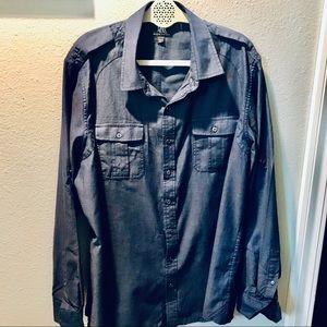 NWT Blue Rock & Republic button down shirt Sz XL